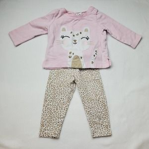 Carter's Leapord Outfit Sz 9M